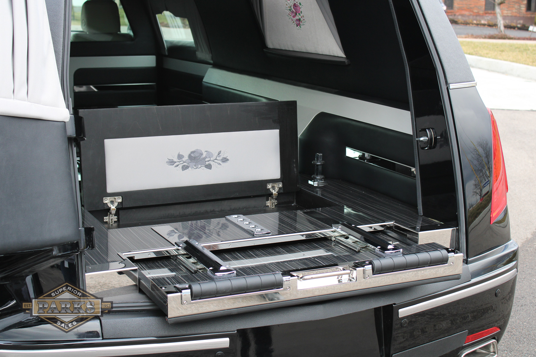 check out the all new 2021 federal cadillac xt-5 hearse