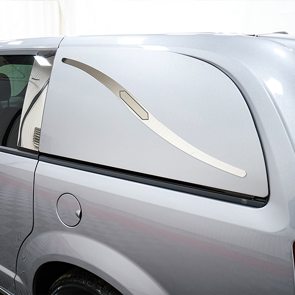 Silver Painted Panels